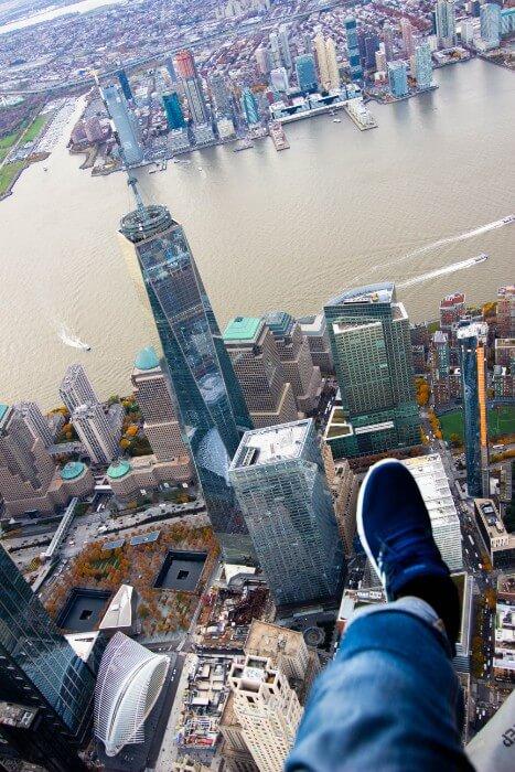 FlyNYON Shoe Selfie