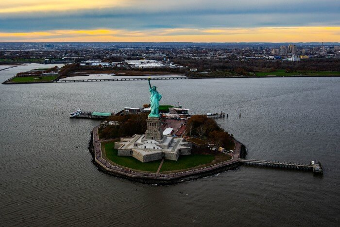 FlyNYON Statue of Liberty