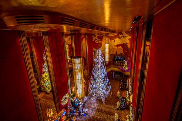 Radio City Hall lobby