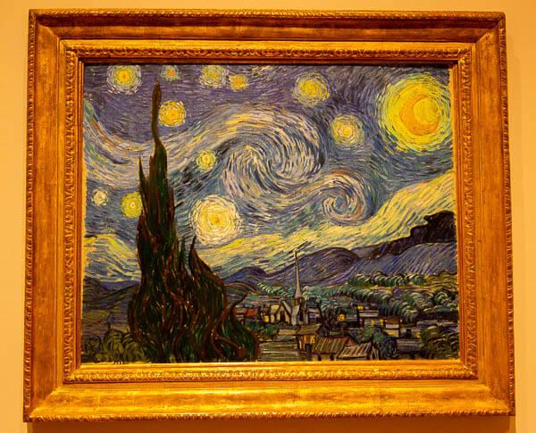 Van Gough the Starry Night