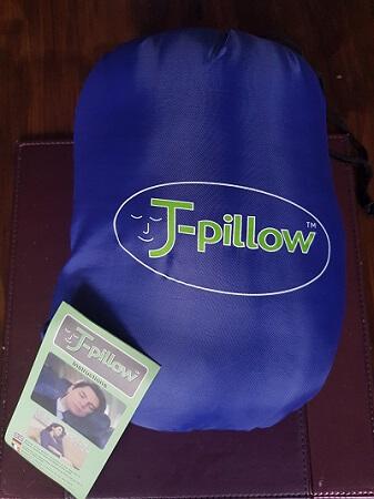 J-Pillow in bag