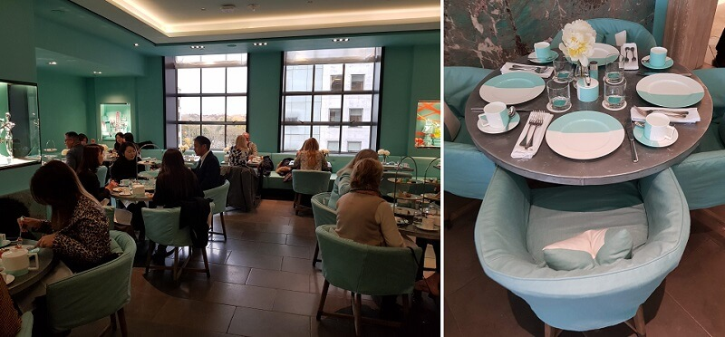 The Blue Box cafe at Tiffany's Review, Finally We Got to Have Breakfast at Tiffany's New York City