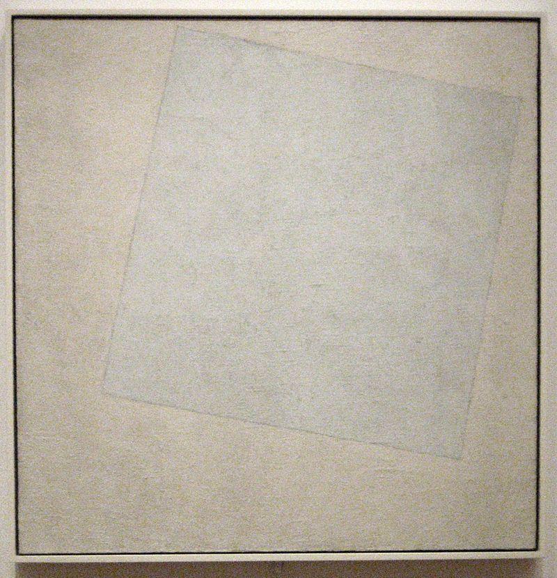 Kazimir Malevich white on white Art?