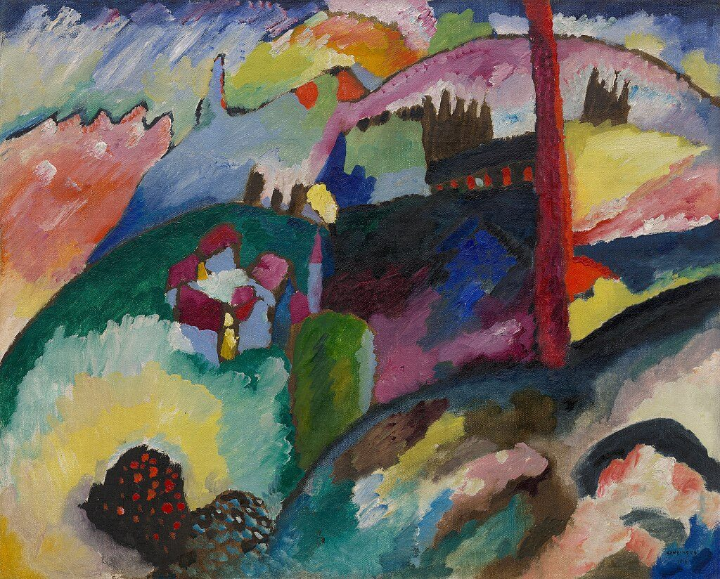 Wassily Kandinsky Guggenheim Museum