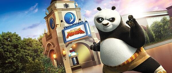 Dreamworks Theatre Kung Fu Panda