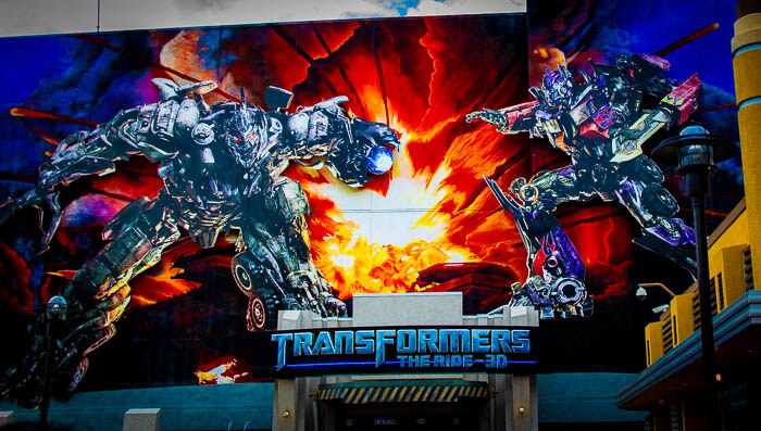 Transformers The Ride review