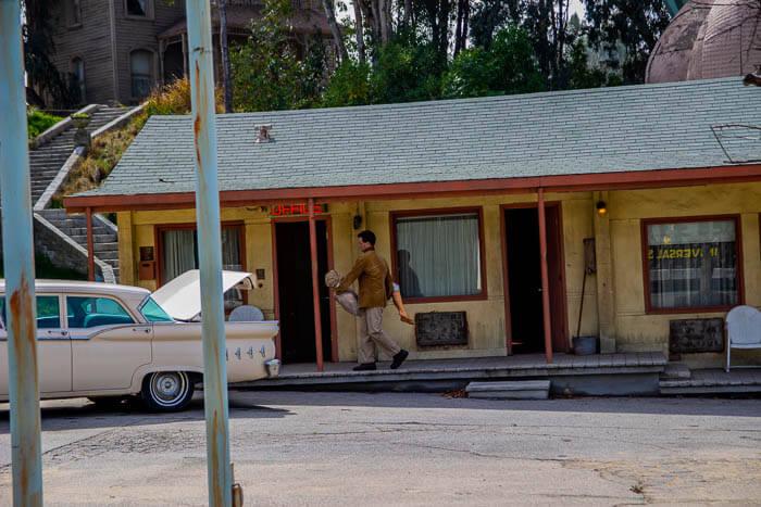 Universal Studios Tour Bates Motel
