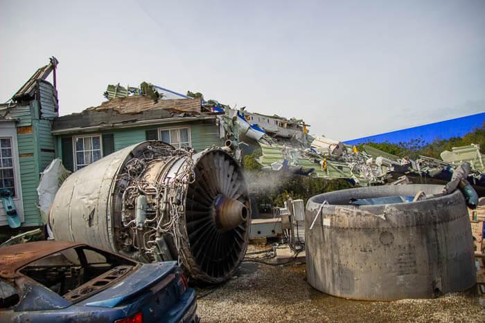 Universal Studios Tour Plane Crash