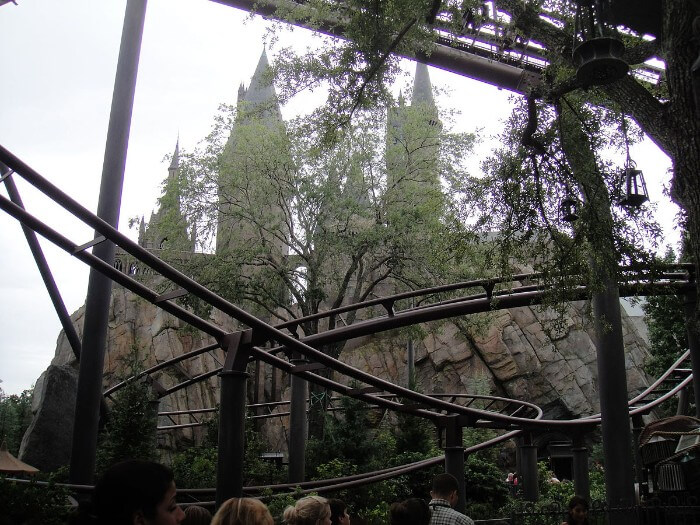 Universal Studios Hollywood Flight of the Hippogriff