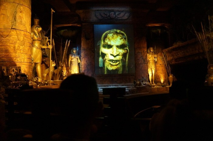 Universal Studios Hollywood Revenge of the Mummy ride