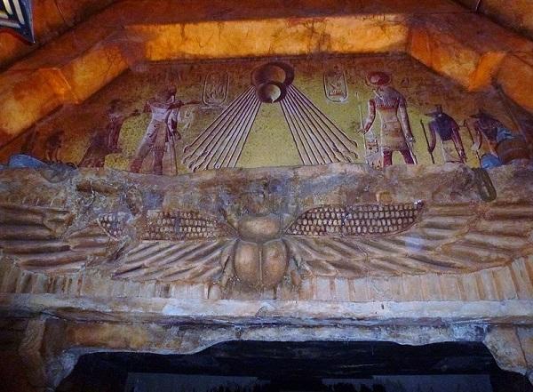 Universal Studios Hollywood Revenge of the Mummy ride start
