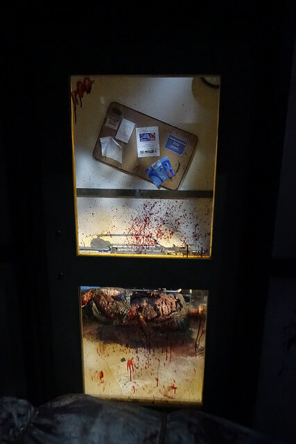 The Walking Dead Attraction Gore