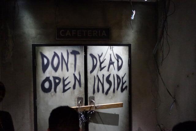 Walking Dead Attraction Dead Inside