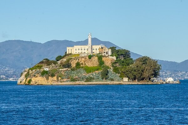Alcatraz from San Francisco