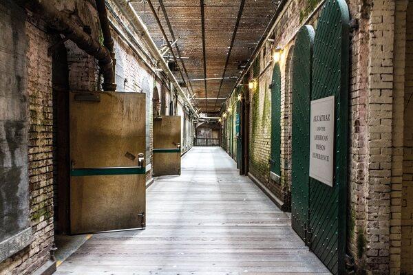 Alcatraz prison san francisco walk