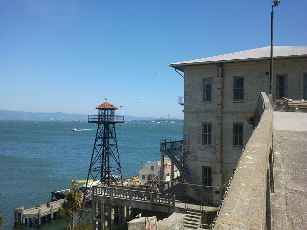 Alcatraz view San Francisco Island