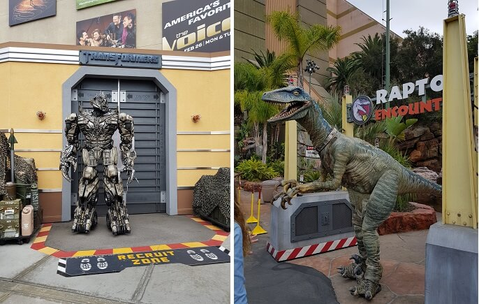 Universal Studios Hollywood Character Encounters