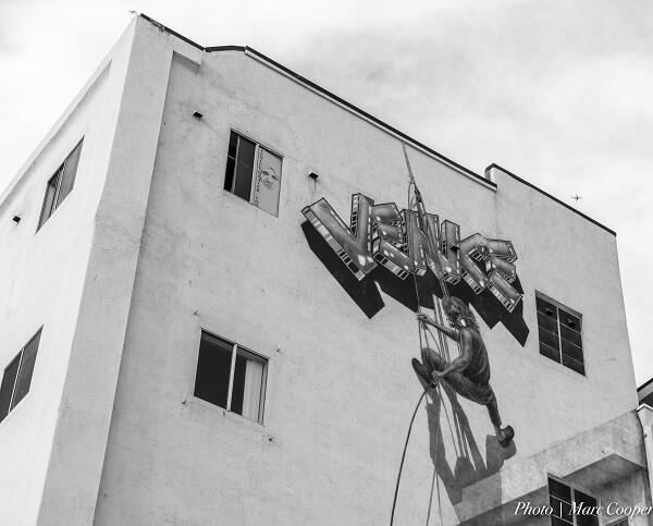 Venice Beach Street painting