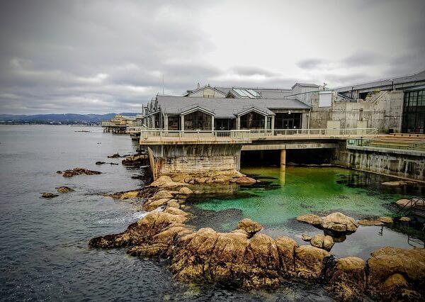 Monterey Bay Aquarium outdoors