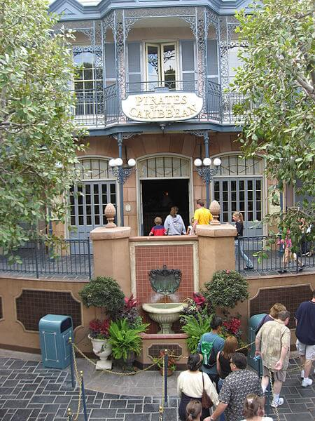 Disneyland POTC entrance