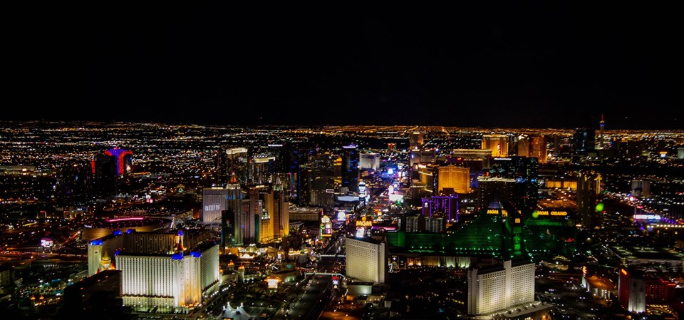 Las Vegas Night Flight