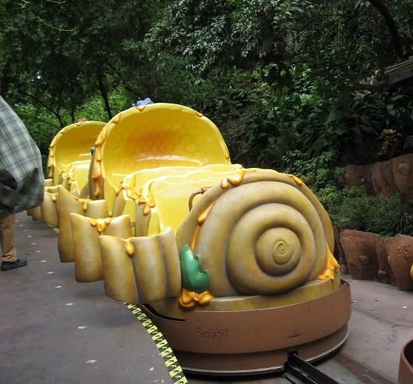 Disneyland Winnie the Pooh Vehicle