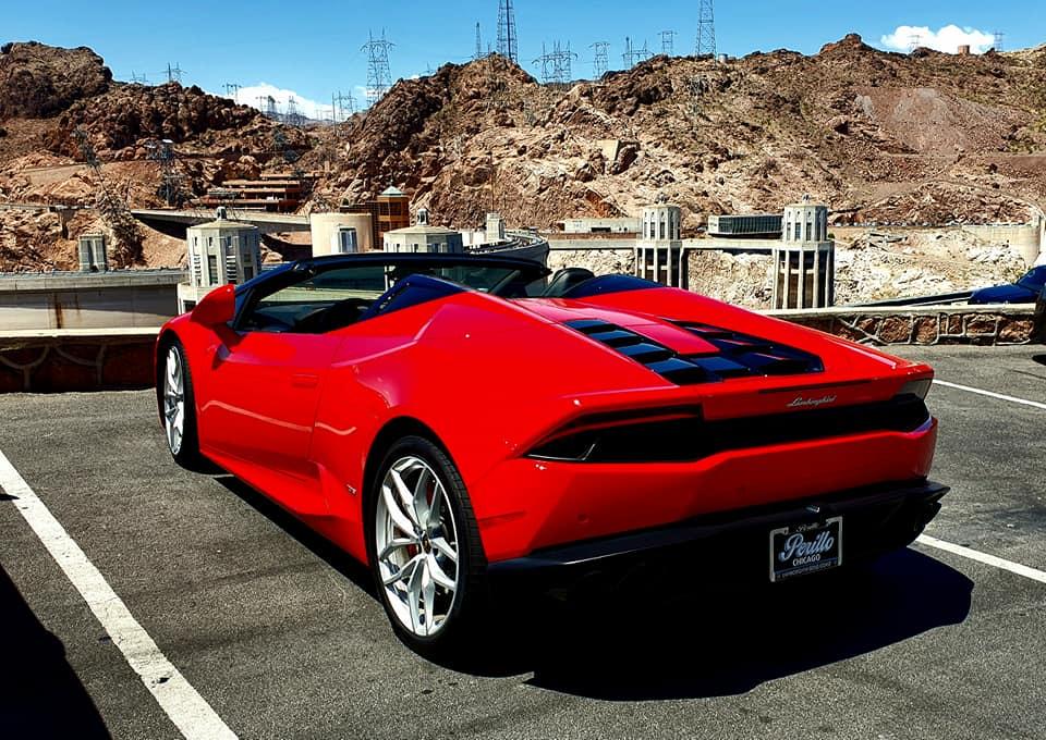 Lamborghini Hoover Dam