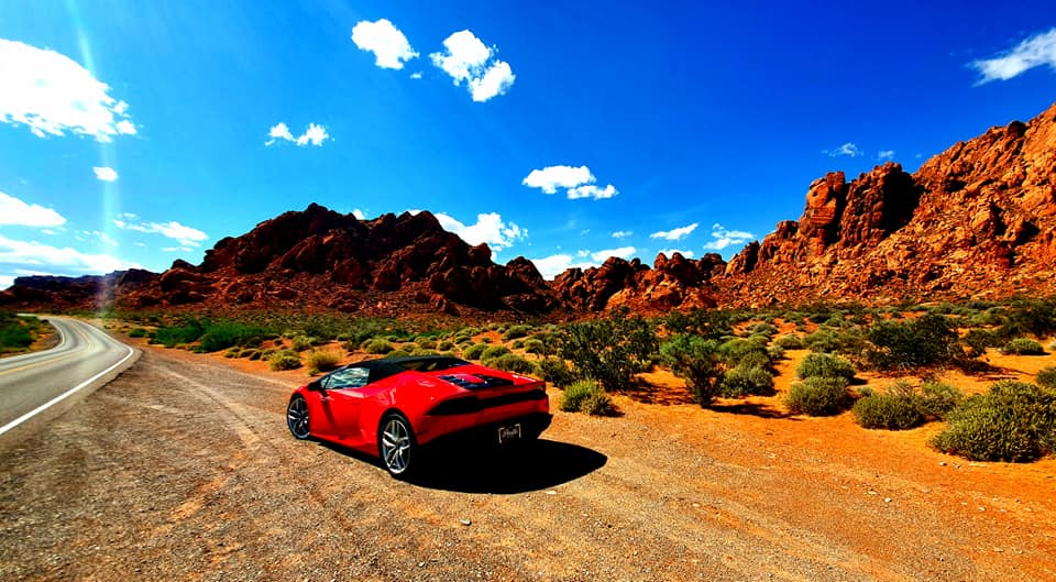 Lamborghini Red Rock