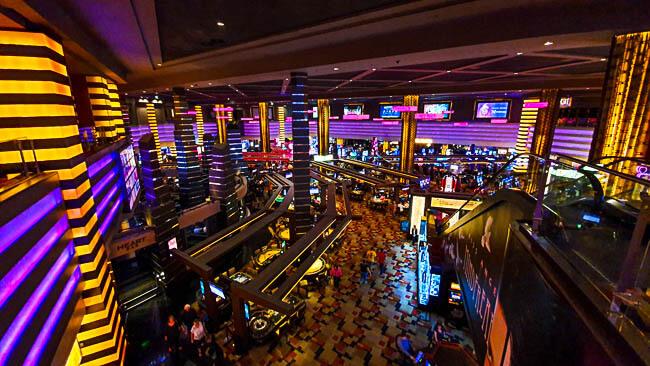 New York New York casino Floor