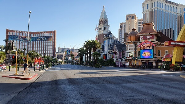 Las Vegas Strip Early Morning