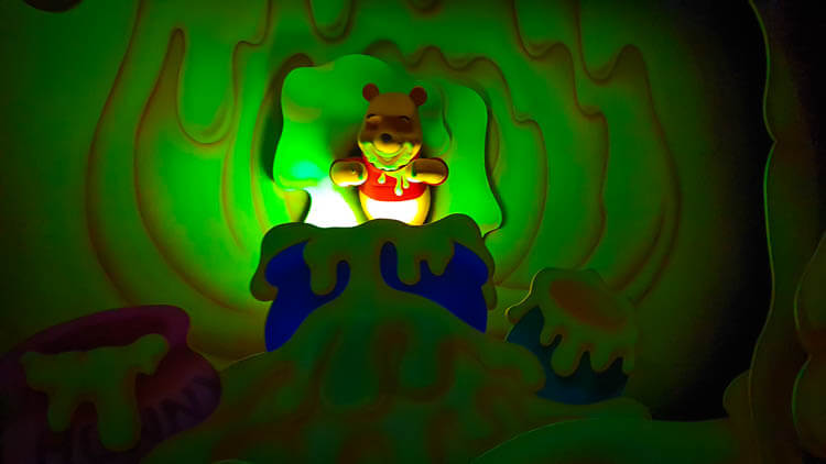 Winnie the Pooh indulging