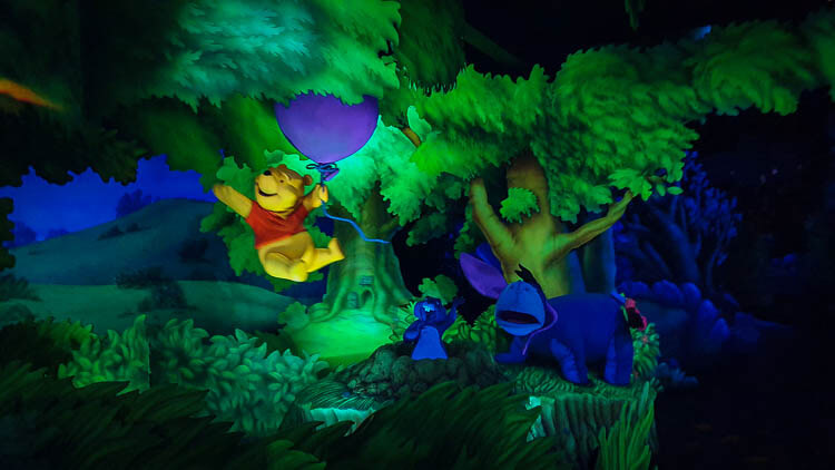 The Many Adventures of Winnie the Pooh Ride Review - Disneyland California