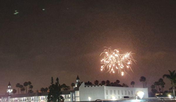 Anaheim fireworks