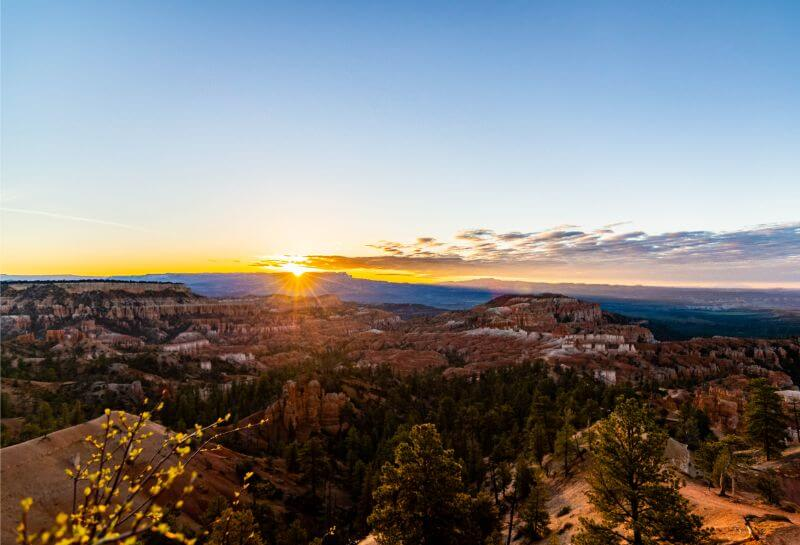 Sunrise over Bryce Canyon