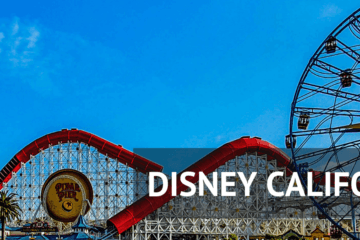Disney California Adventure Header
