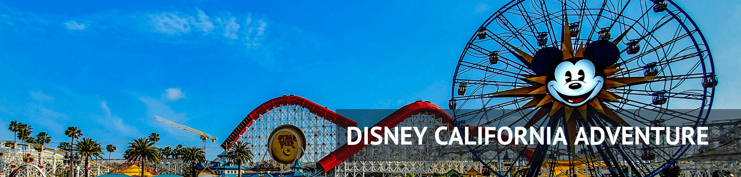 Disney California Adventure Header