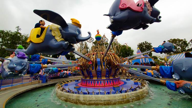 Disneyland Park Rides List