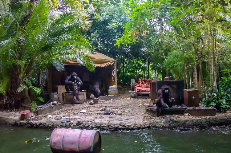 Gorillas on the Jungle Cruise