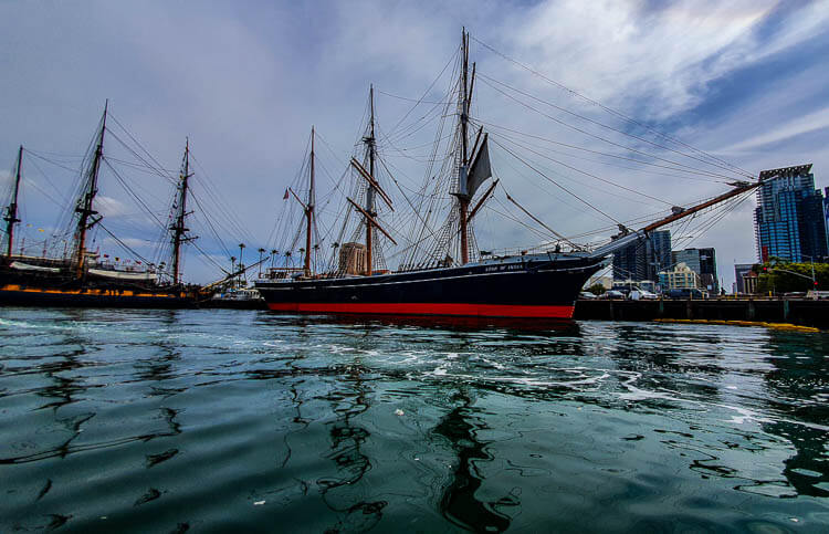 Speedboat San Diego Tour Maritime Museum