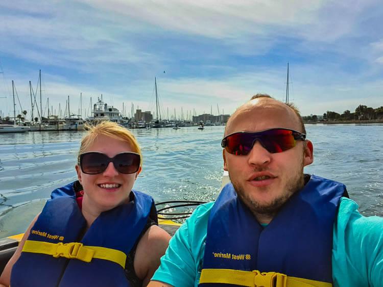Speedboat San Diego Tour