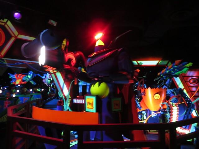 Buzz Lightyear Astro Blasters in ride