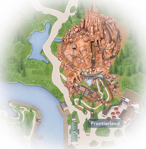 Disneyland California frontierland