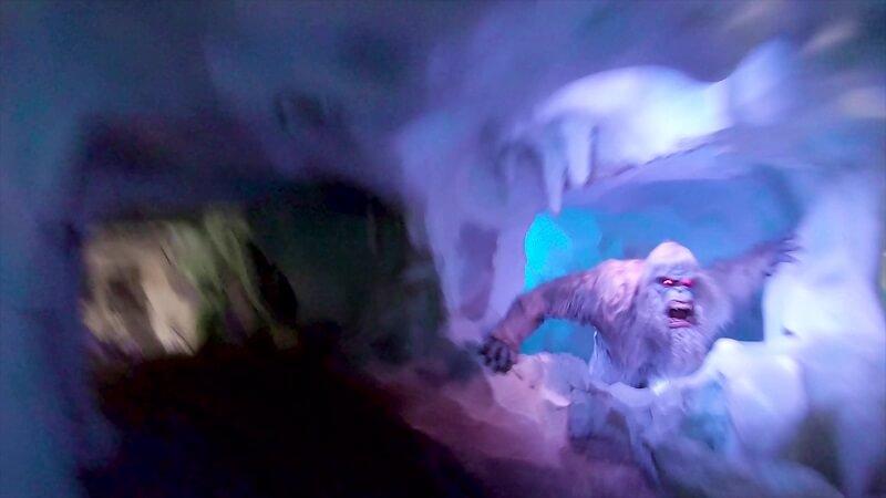 Matterhorn Bobsleds Snowman