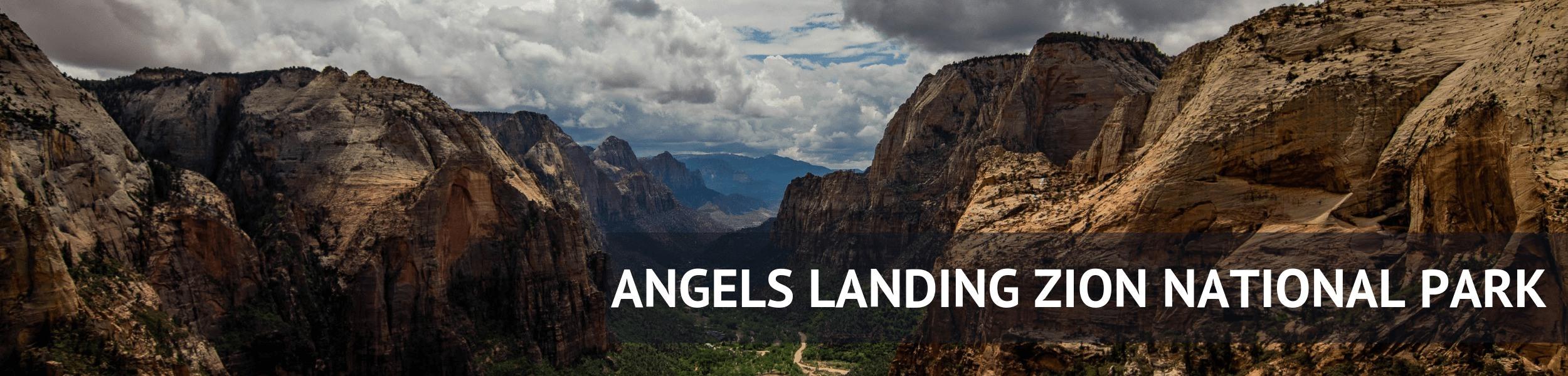 Hiking Angels Landing Zion Nation Park Utah