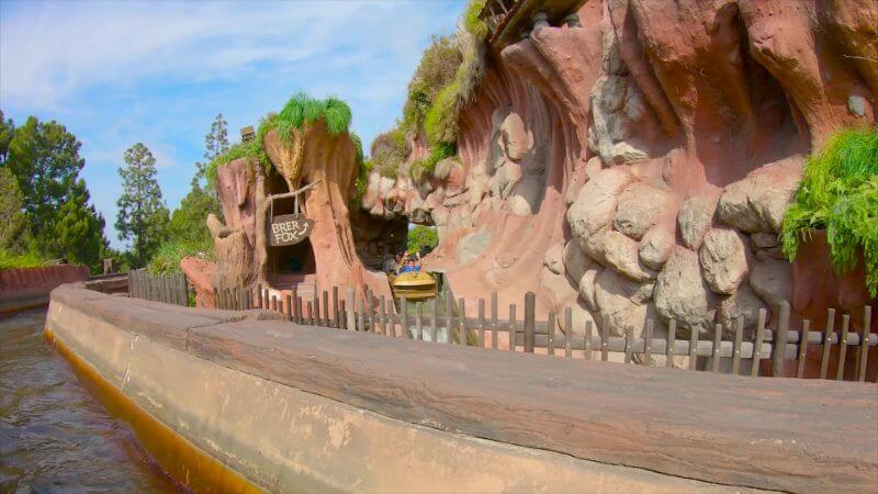Splash Mountain first drop