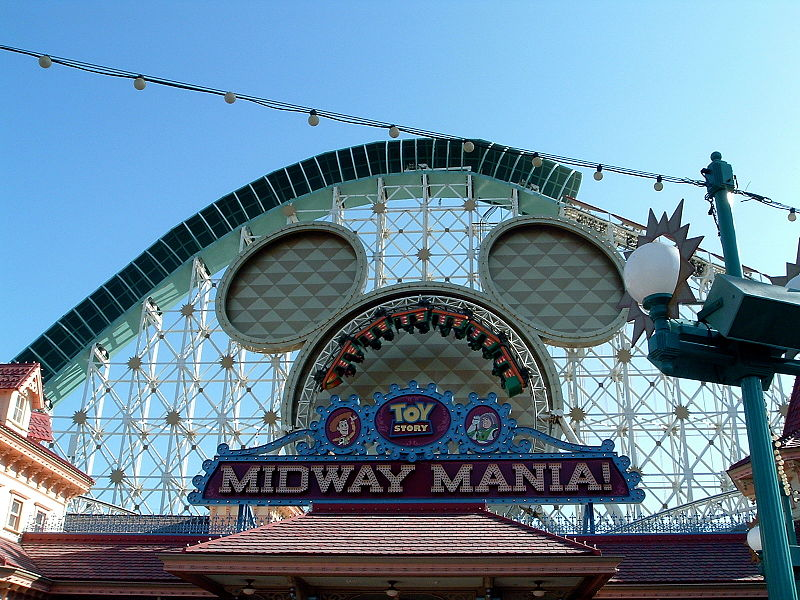 Toy Story - Midway Mania Review - Disney California Adventure