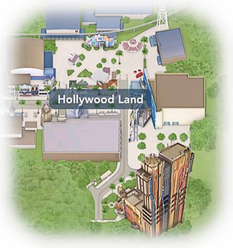 DCA Hollywood Land