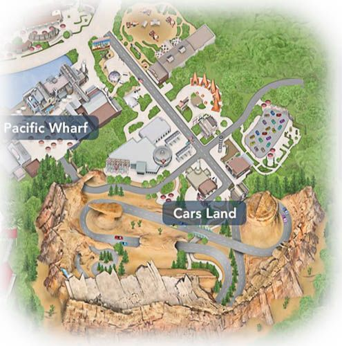 DCA Cars Land