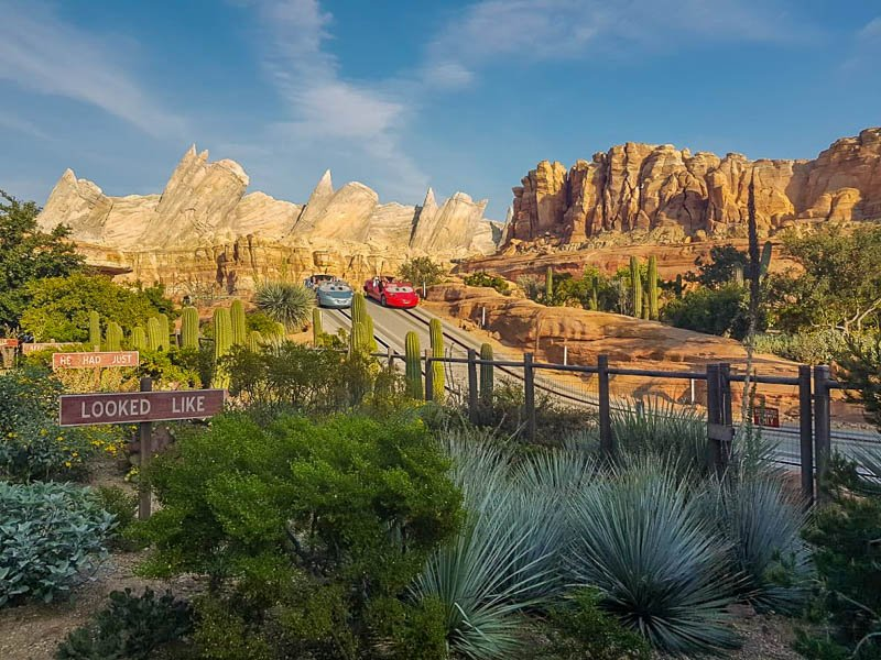 Radiator Springs Racers View