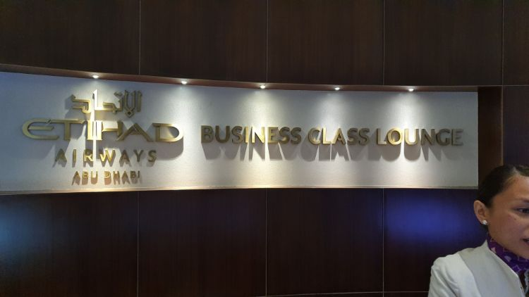 Abu Dhabi Business Class Lounge